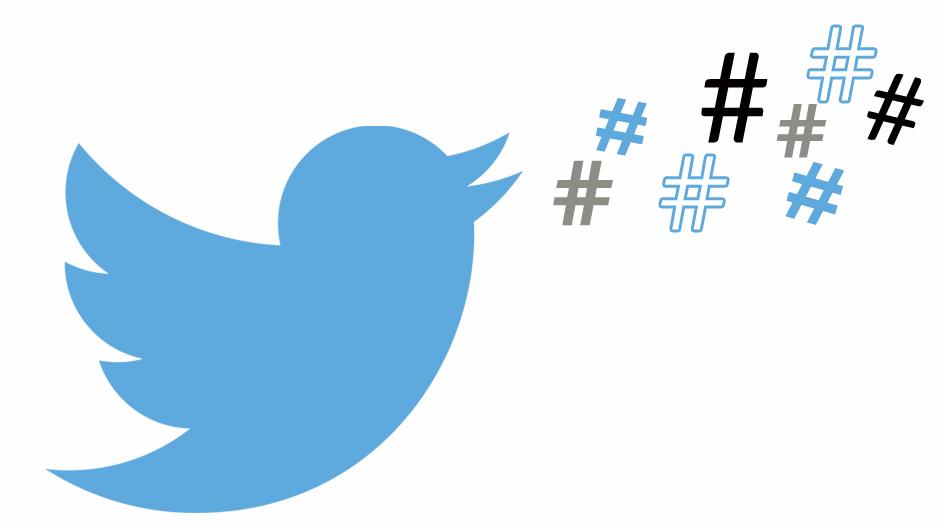 como ganhar seguidores no twitter - hashtags