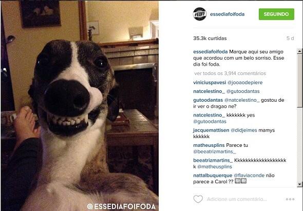 estimule seguidores a marcar amigos - como ganhar seguidores no instagram
