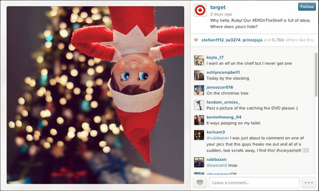 post de natal no instagram - como ganhar seguidores no instagram