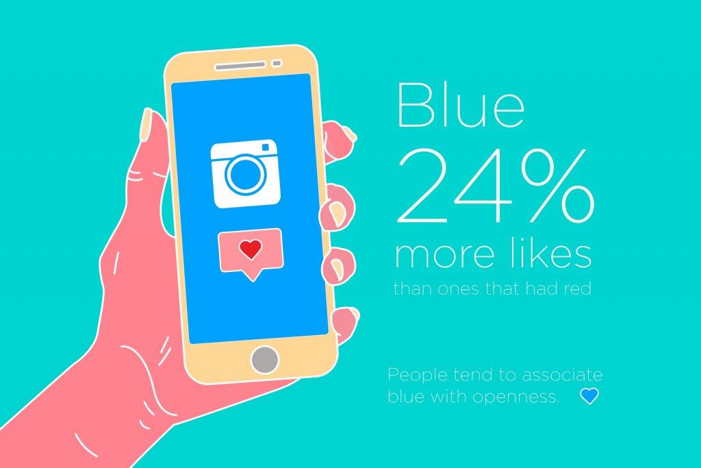 poste fotos com tom azulado - como ganhar seguidores no instagram