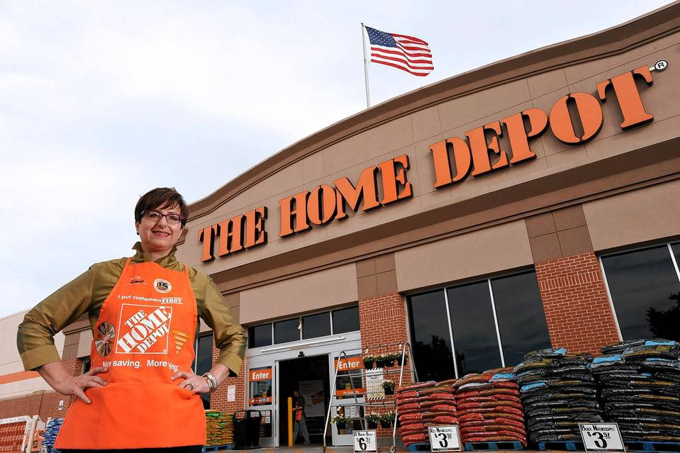 live marketing home depot