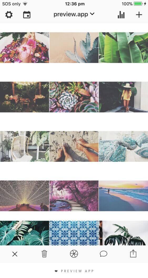 feed do instagram com bordas 2