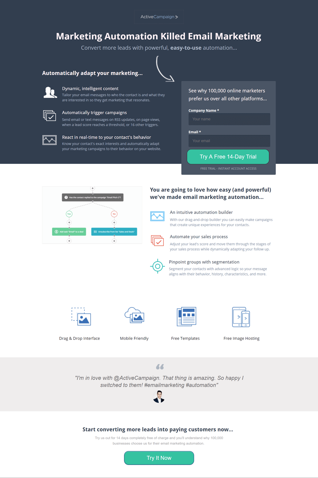 landing page exemplo 3