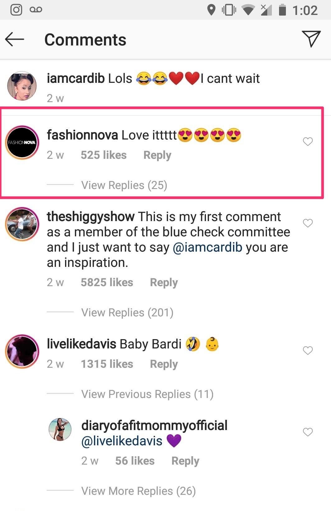 algoritmo do instagram comentario engajamento