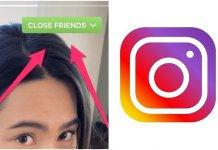melhores amigos do instagram - Close friends