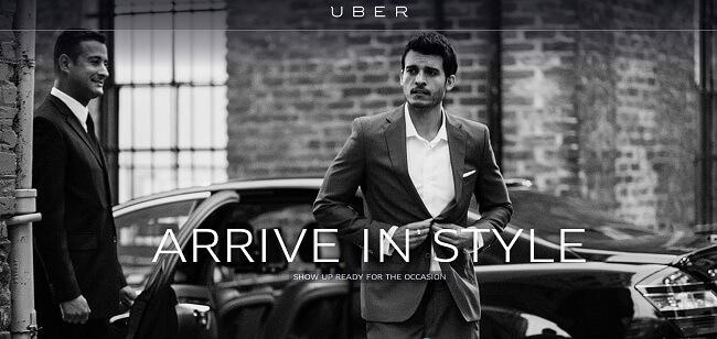 branding exemplo uber