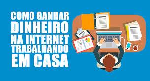 como trabalhar pela internet
